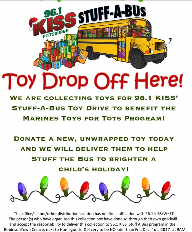 Stuff-A-Bus Toy Drop Off Here! Thumbnail Image