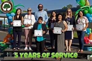 5 Years of Service Awards