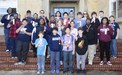 Middle School students display their UIL Academic Meet ribbons