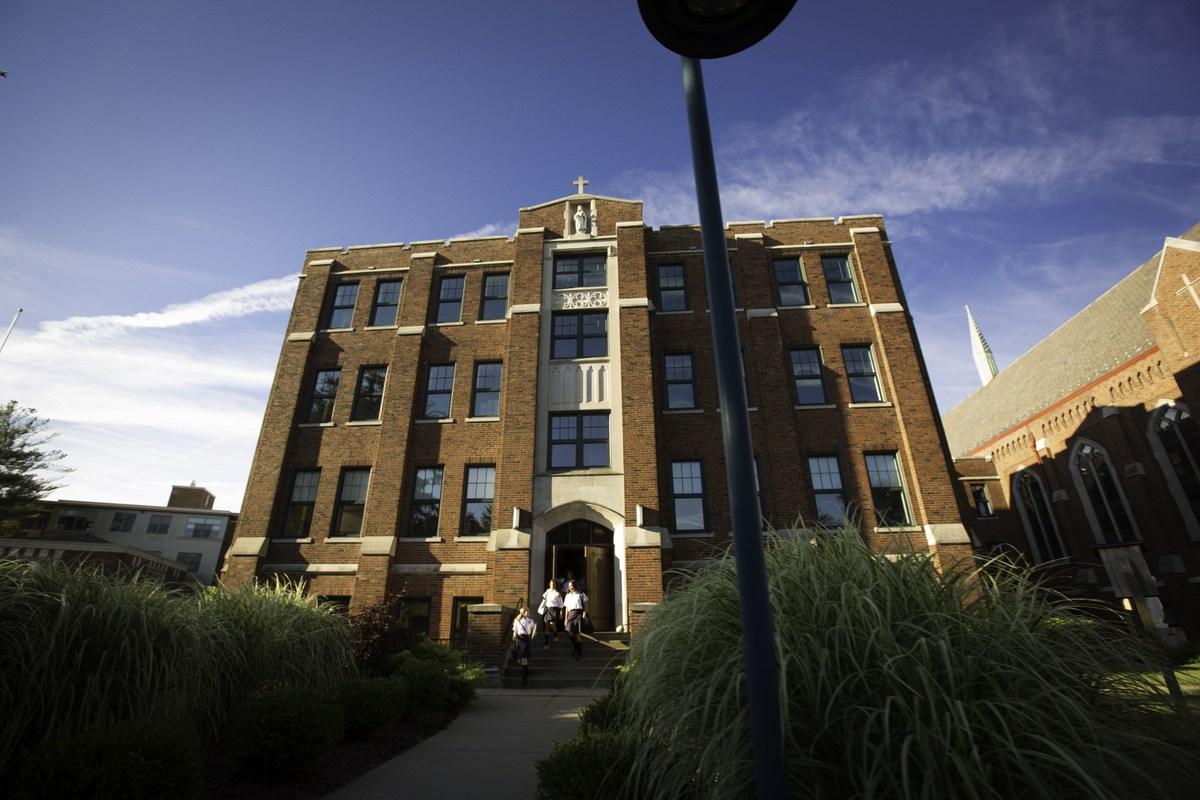 OLSH school building