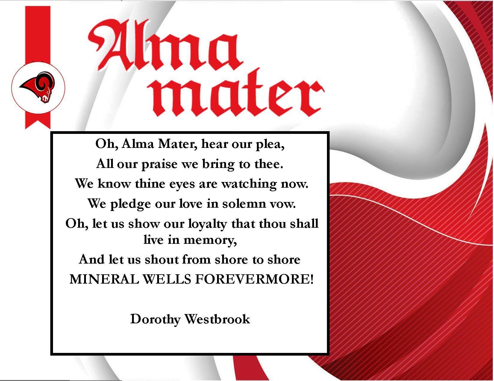 MWISD Alma Mater