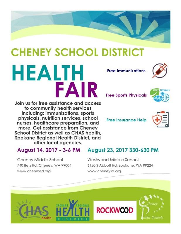 Free Health Fair - Aug. 14th Thumbnail Image