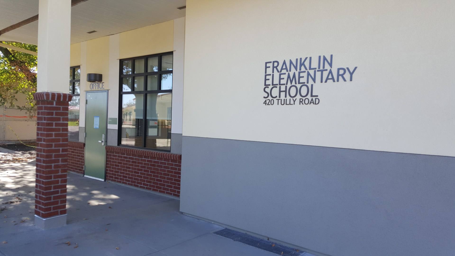 New Front Office at Franklin School