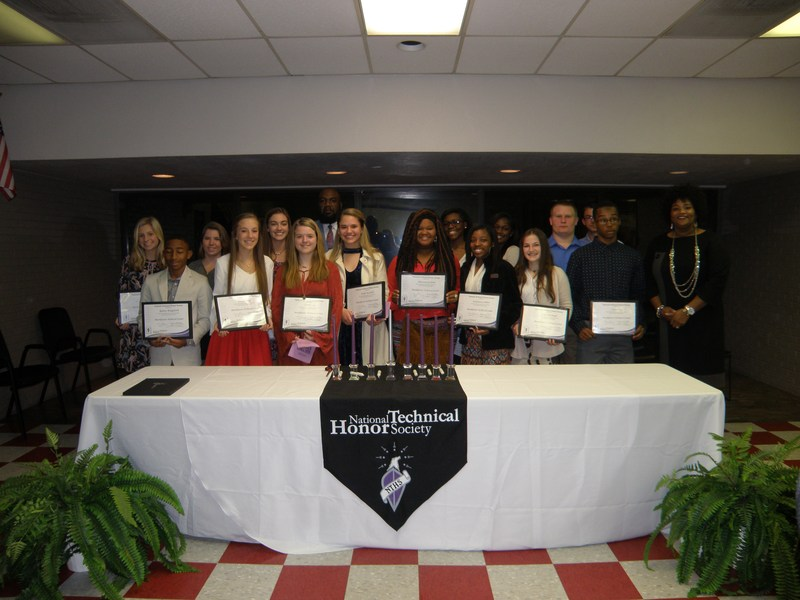 2017-2018 National Technical Honor Society Induction Thumbnail Image