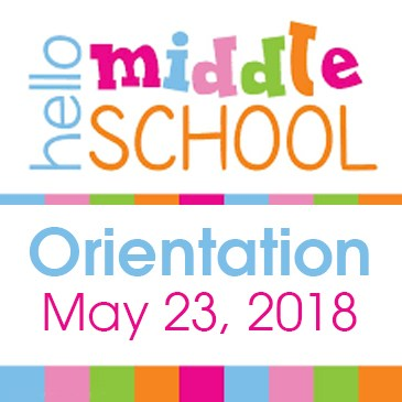 Middle School Orientation