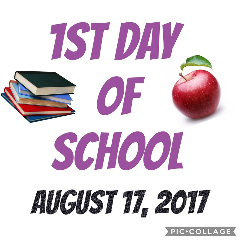 Aug. 17, 2017 ~ First Day of School! Featured Photo