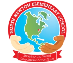North Newton Elementary School's vision statement: Shaping the world, one student at a time.