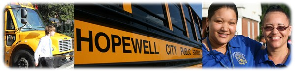HCPS school bus.
