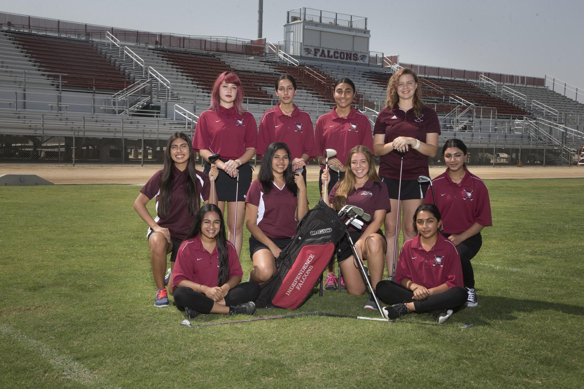 girls golf 2017