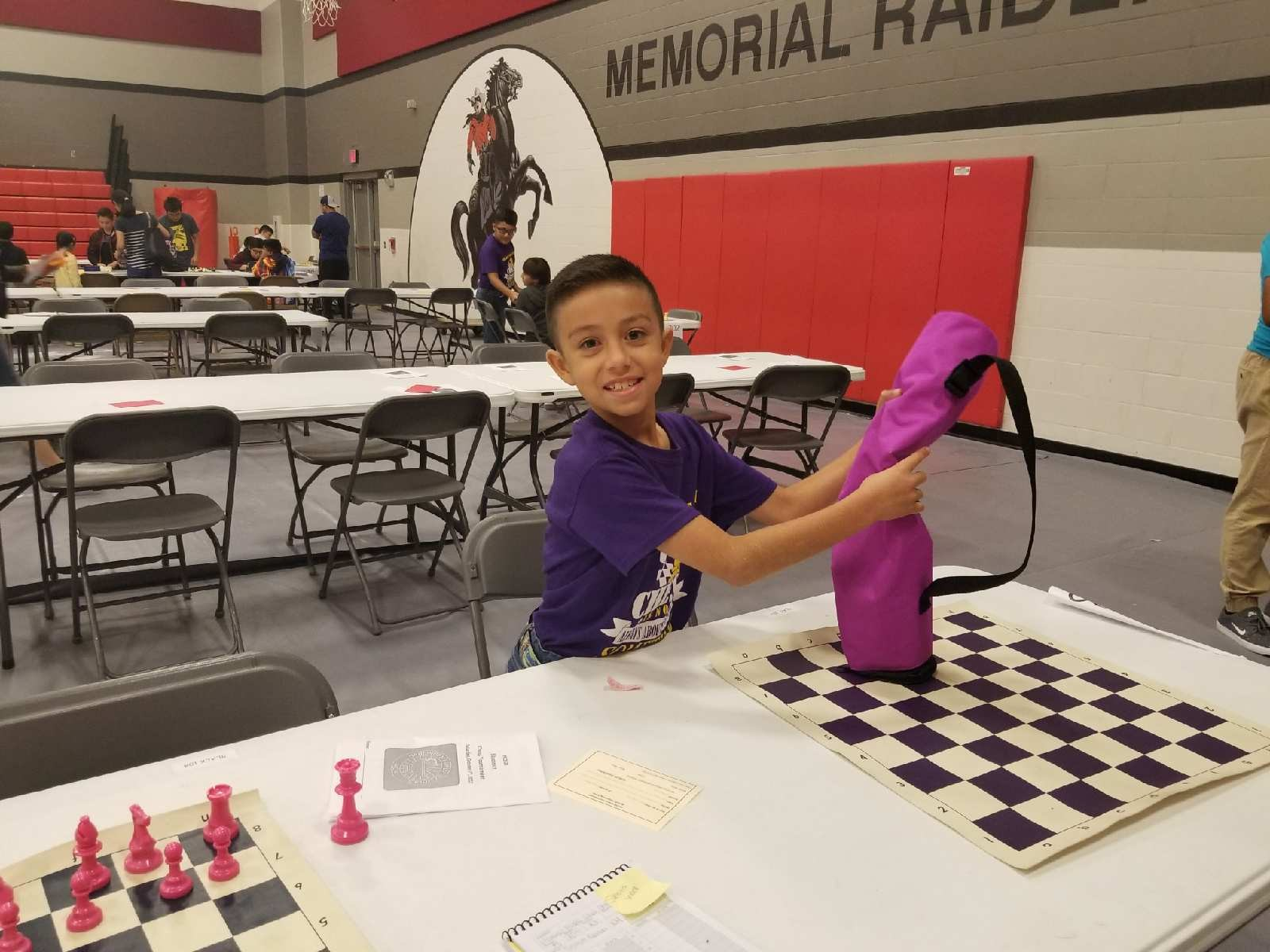 Cobretti Rodriguez~3rd Grade Chess Team member