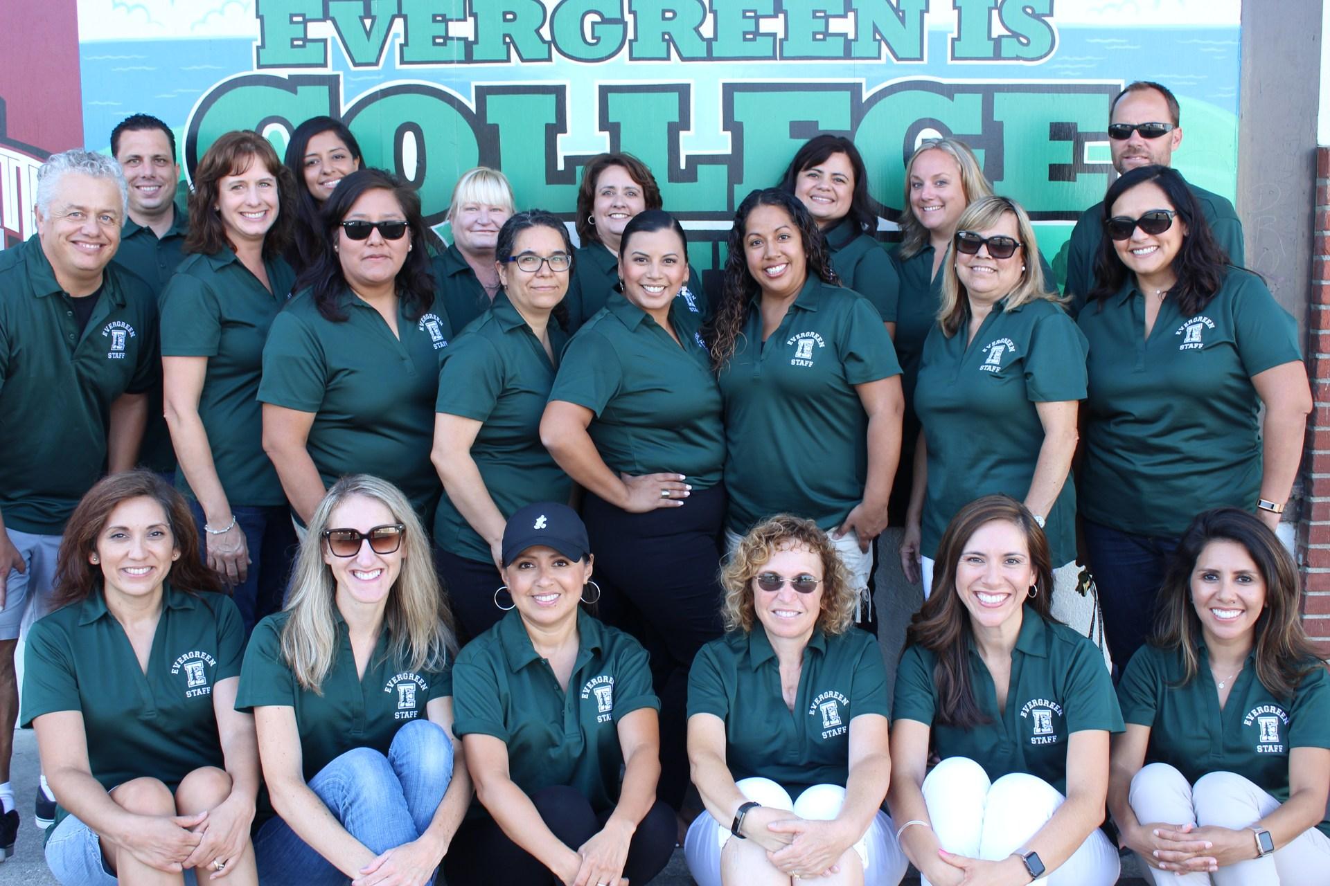 Evergreen Staff 17-18