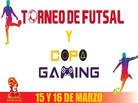 Torneo de Futsal y Copa de Gaming 2018 Thumbnail Image