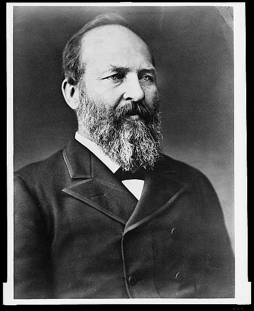 James A. Garfield 1870