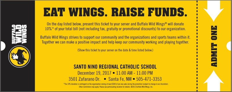 Eat Wings, Raise Funds!! Thumbnail Image