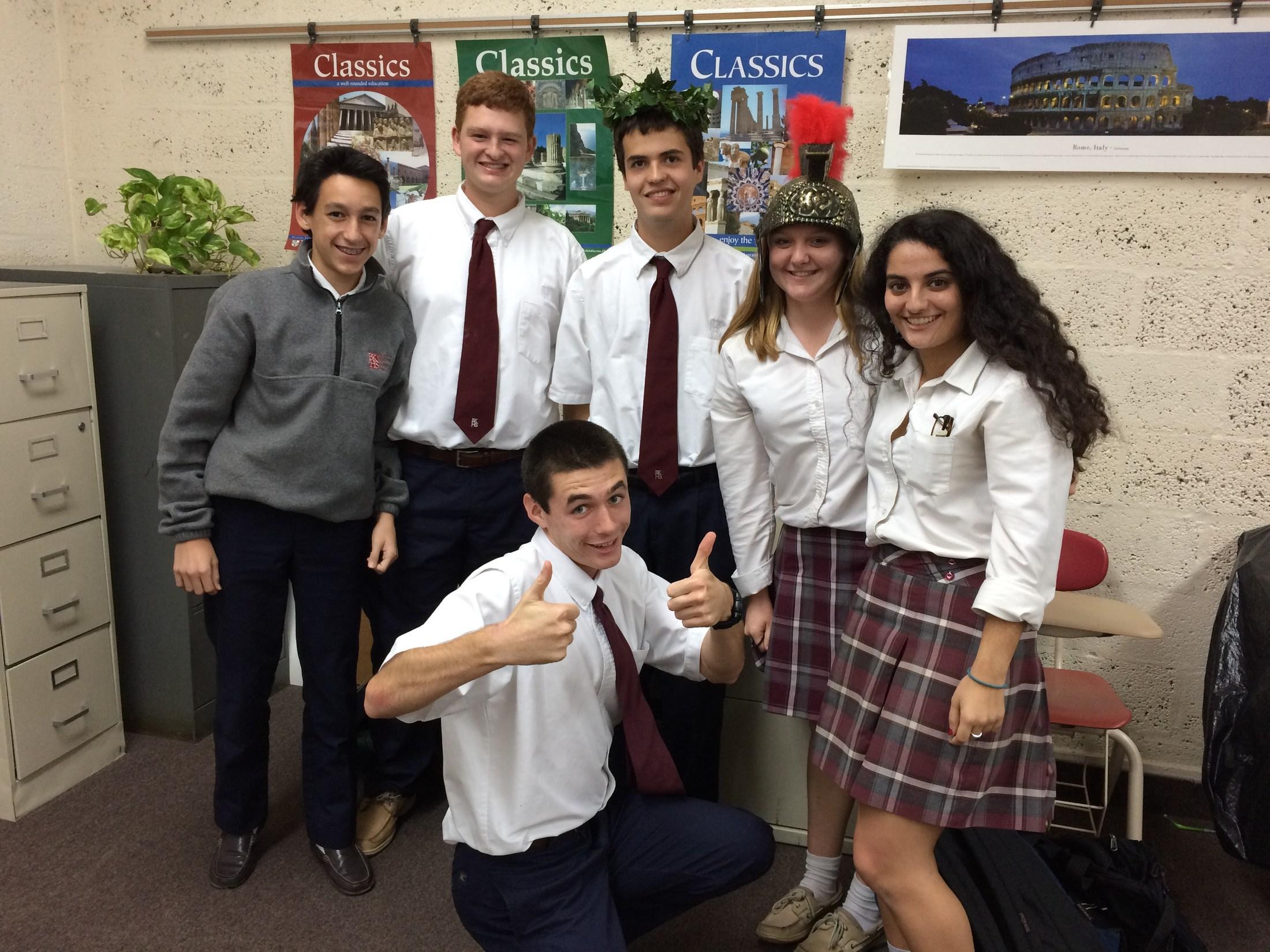 Latin Club – Academic Organizations – Bishop Kenny High School