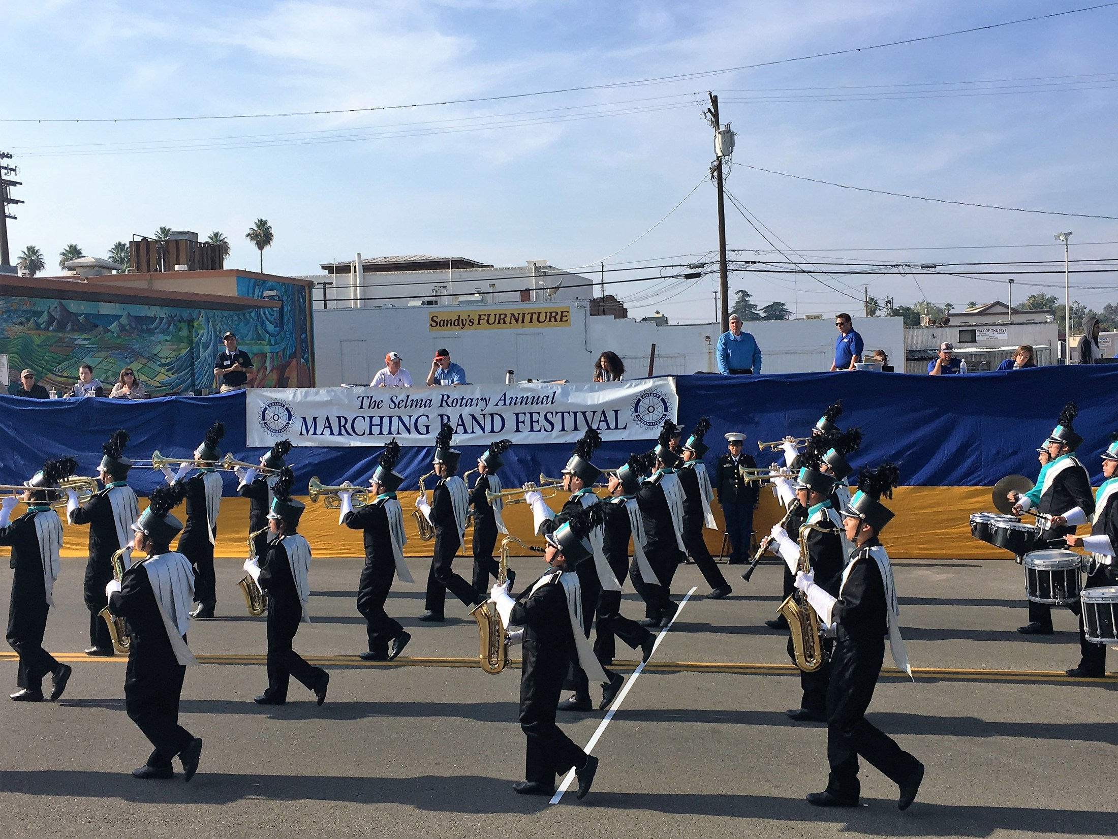 OCHS Band at a Parade