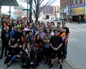 Group photo at Hamilton