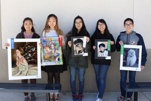 PYLAA  art show winners