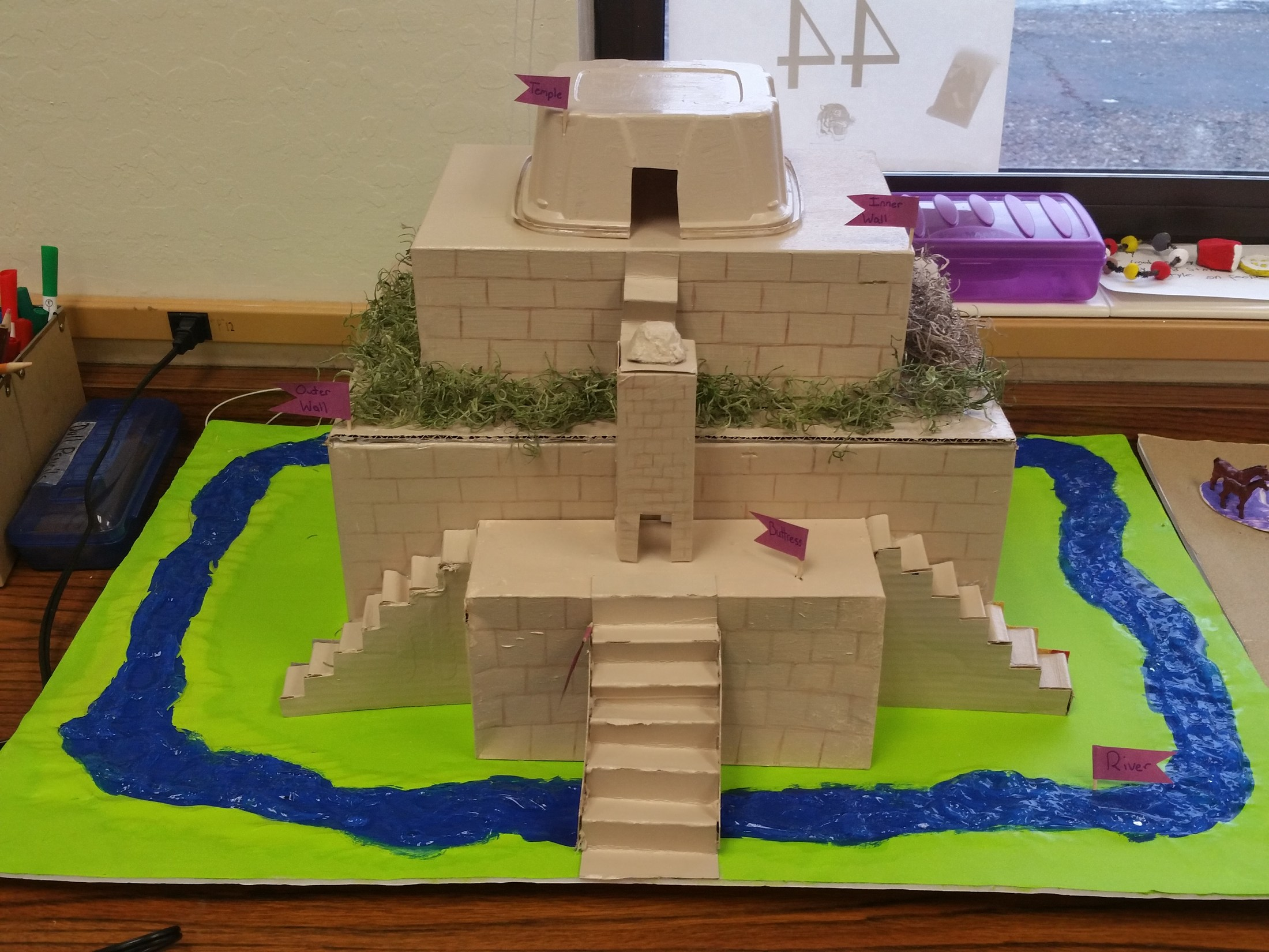 Amazing Ziggurat From Our Final Project