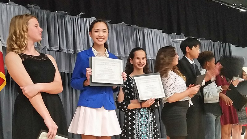 Arroyo Seco takes First and Second at District-wide Speech Competition Featured Photo