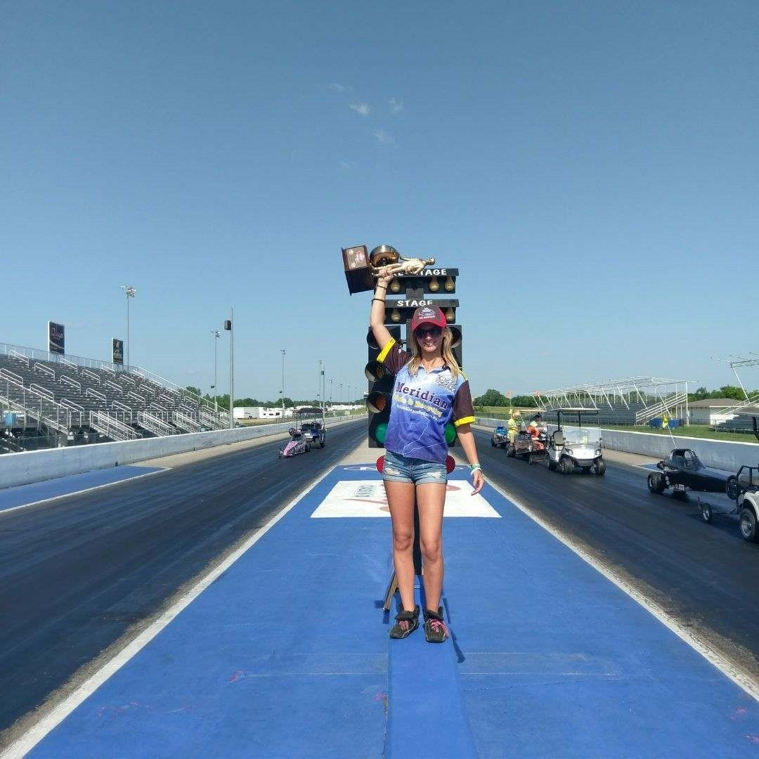 Monica Roberts is the NHRA Western Region Junior Drag Race Champion!