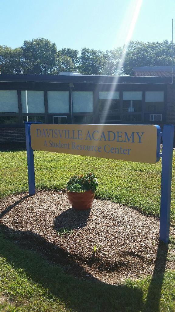 Davisville Academy Sign