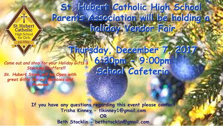 Parents Association Holiday Vendor Fair Featured Photo