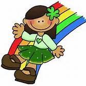 Girl on Rainbow