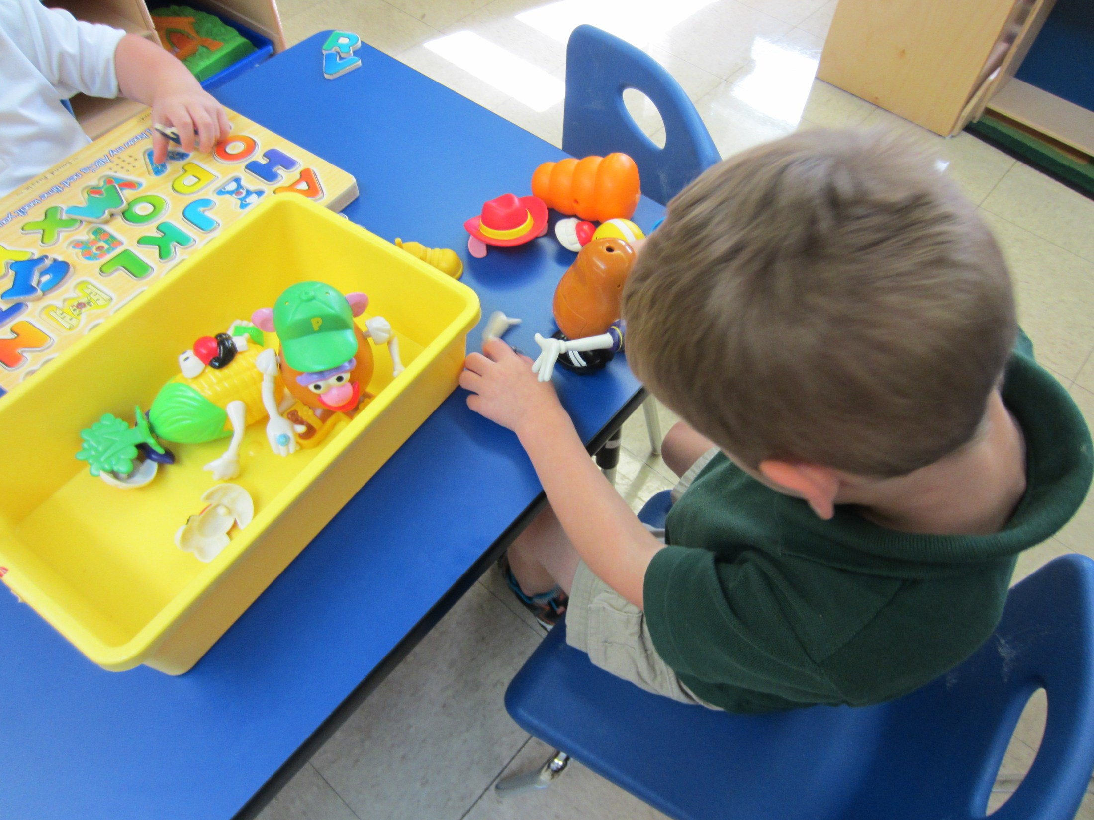 table toys- fine motor