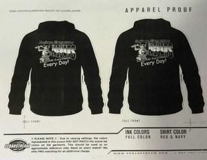 Sweatshirt order form