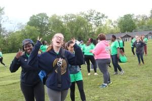 having fun at empowerment day