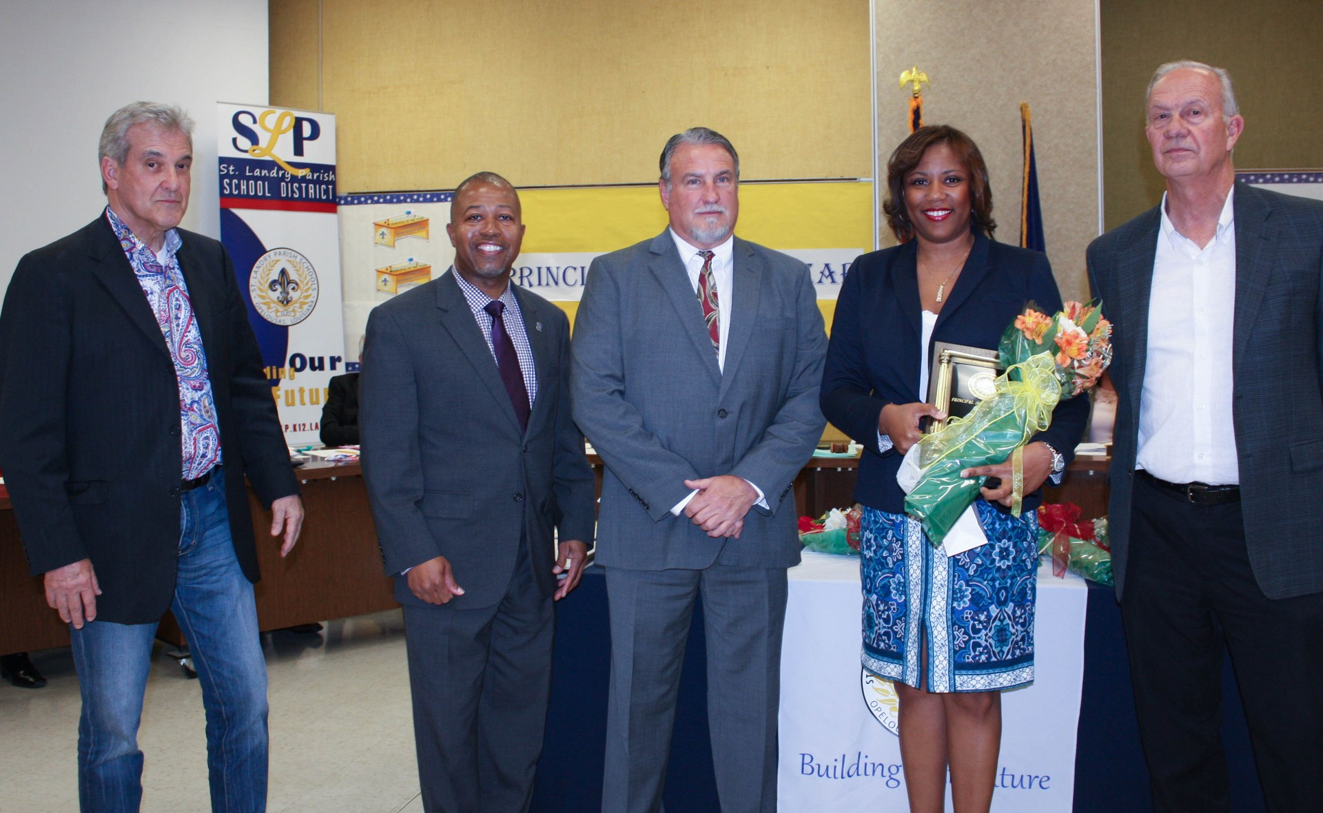principal of the year Ramica Robinson