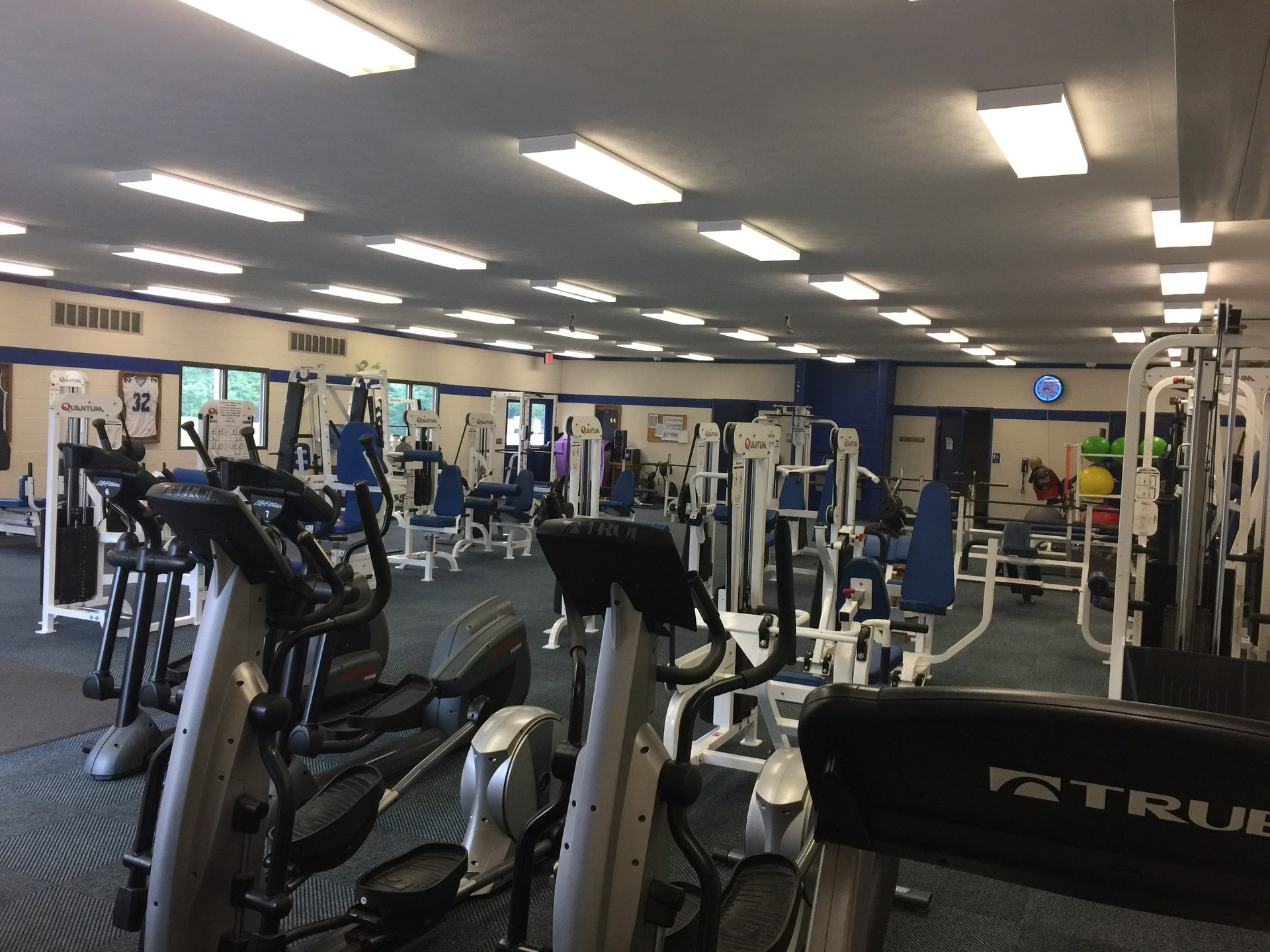 Fitness Center Equipment