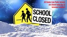 School closed due to bad weather
