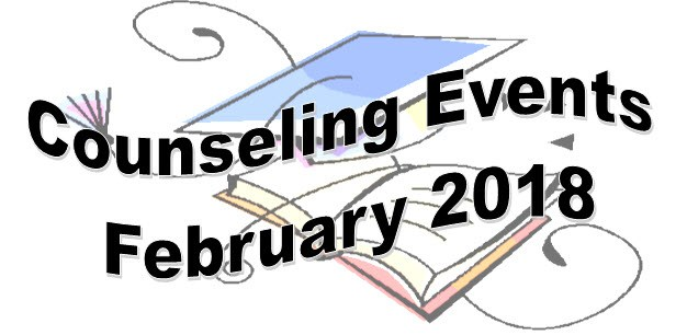 Counseling Events - February 2018 Thumbnail Image