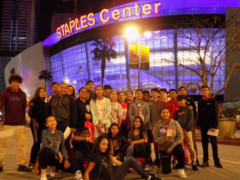 CRMA 4 Student-Athletes cheer big for LA Clippers Thumbnail Image