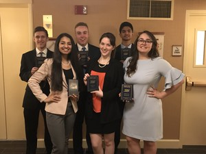 Bishop Canevin Top 10 FBLA Finishers 2018