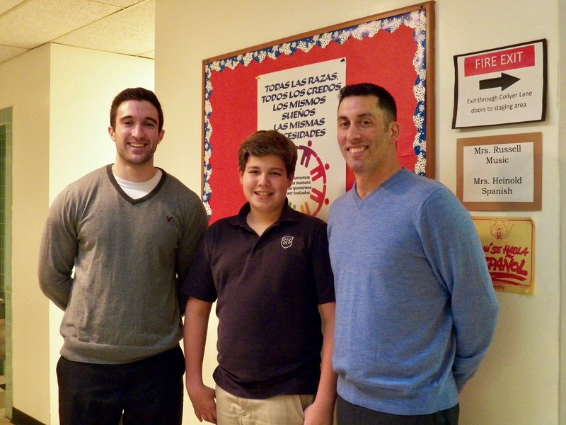 Update: Aidan Batista, Grade 7, qualifies for the state-level competition of the National Geography Bee Thumbnail Image