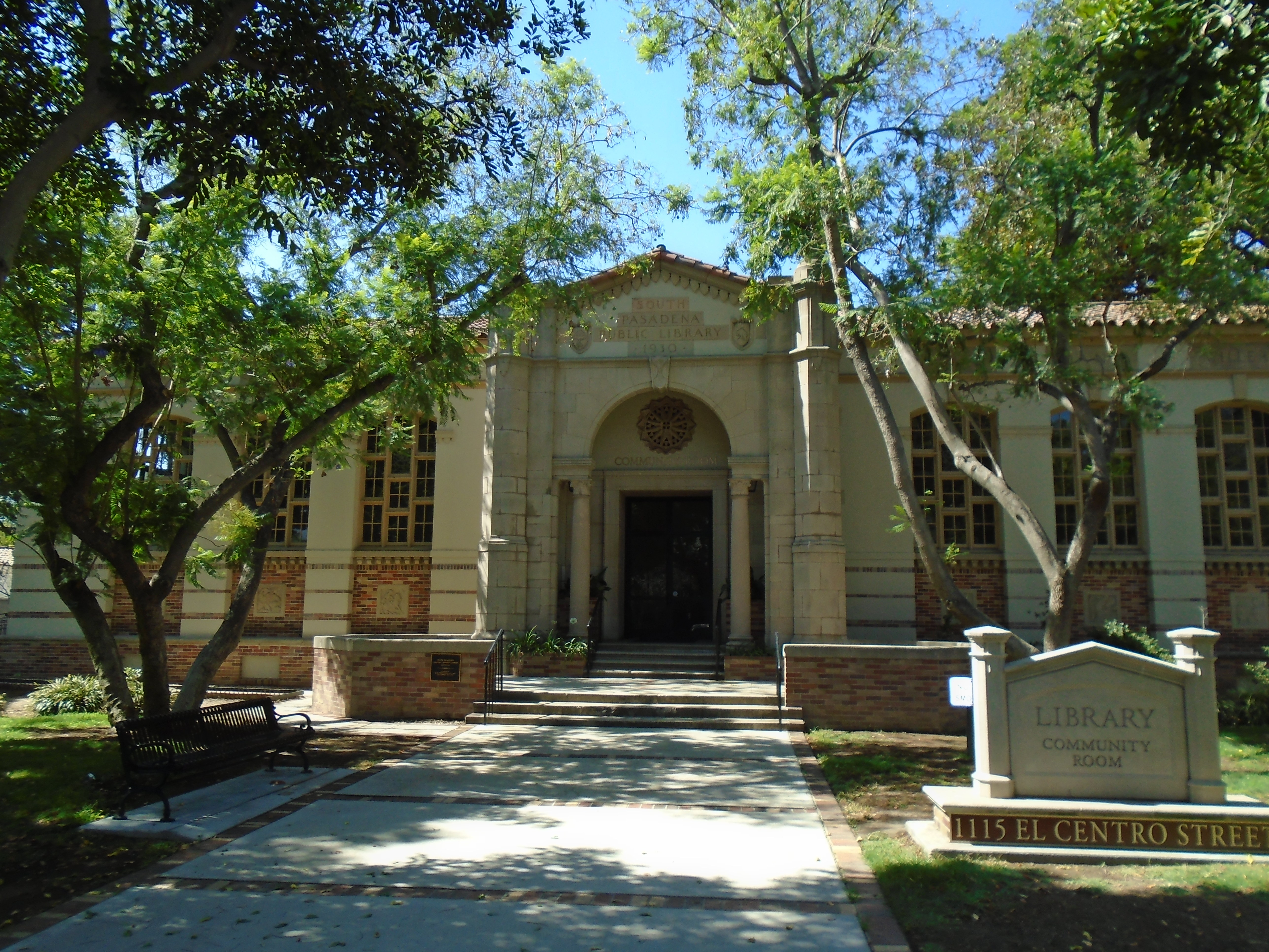 South Pasadena Library