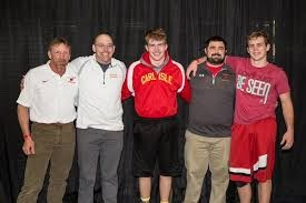 2015 State wrestling qualifiers and coaches
