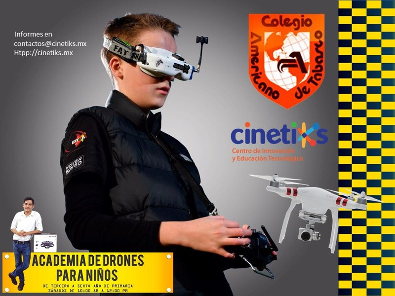 Primaria: Nuevo taller- Academia de drones para niños Featured Photo