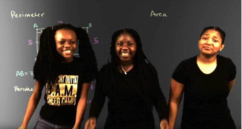 Robert Cross Middle Magnet School 6th Graders Produce Rap Video for Math Project Thumbnail Image