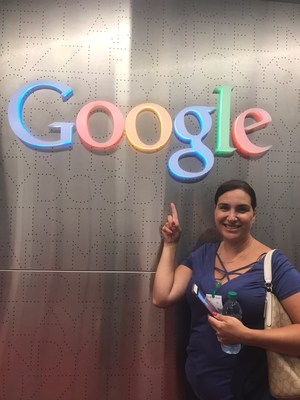 Mrs. Rojas by the google sign