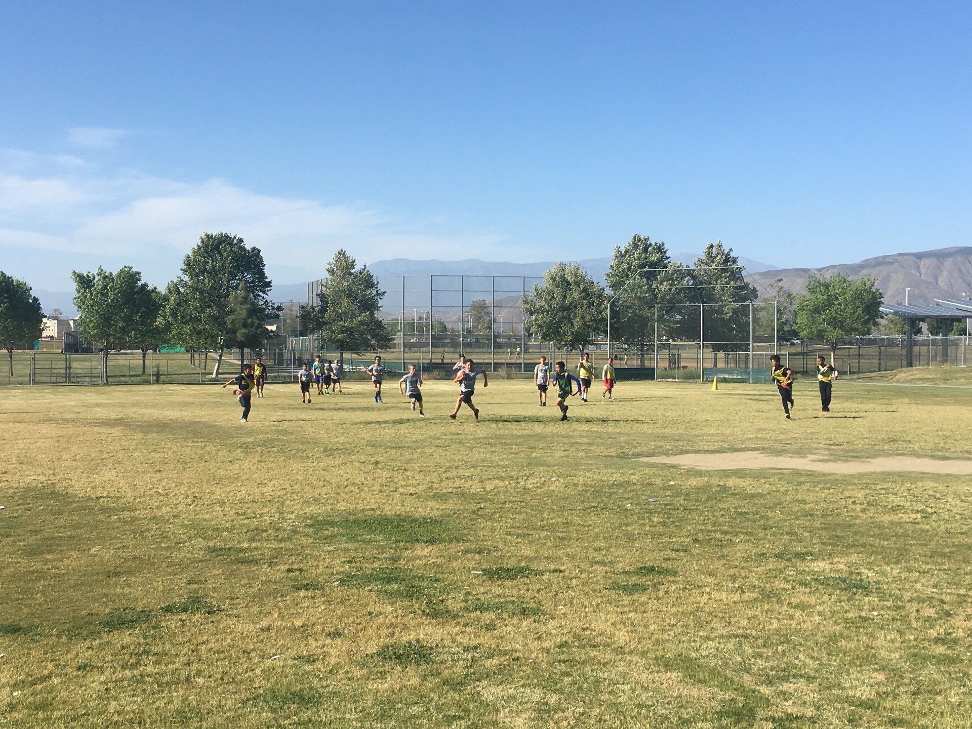 Flag Football- Dartmouth & Rancho Viejo Zone Programs