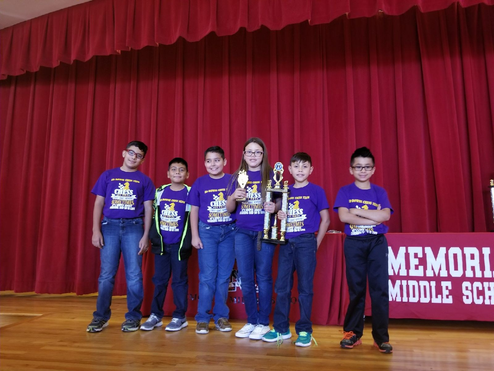 3rd PLACE K-5th  (Oct. 7, 2017 Memorial Middle School)