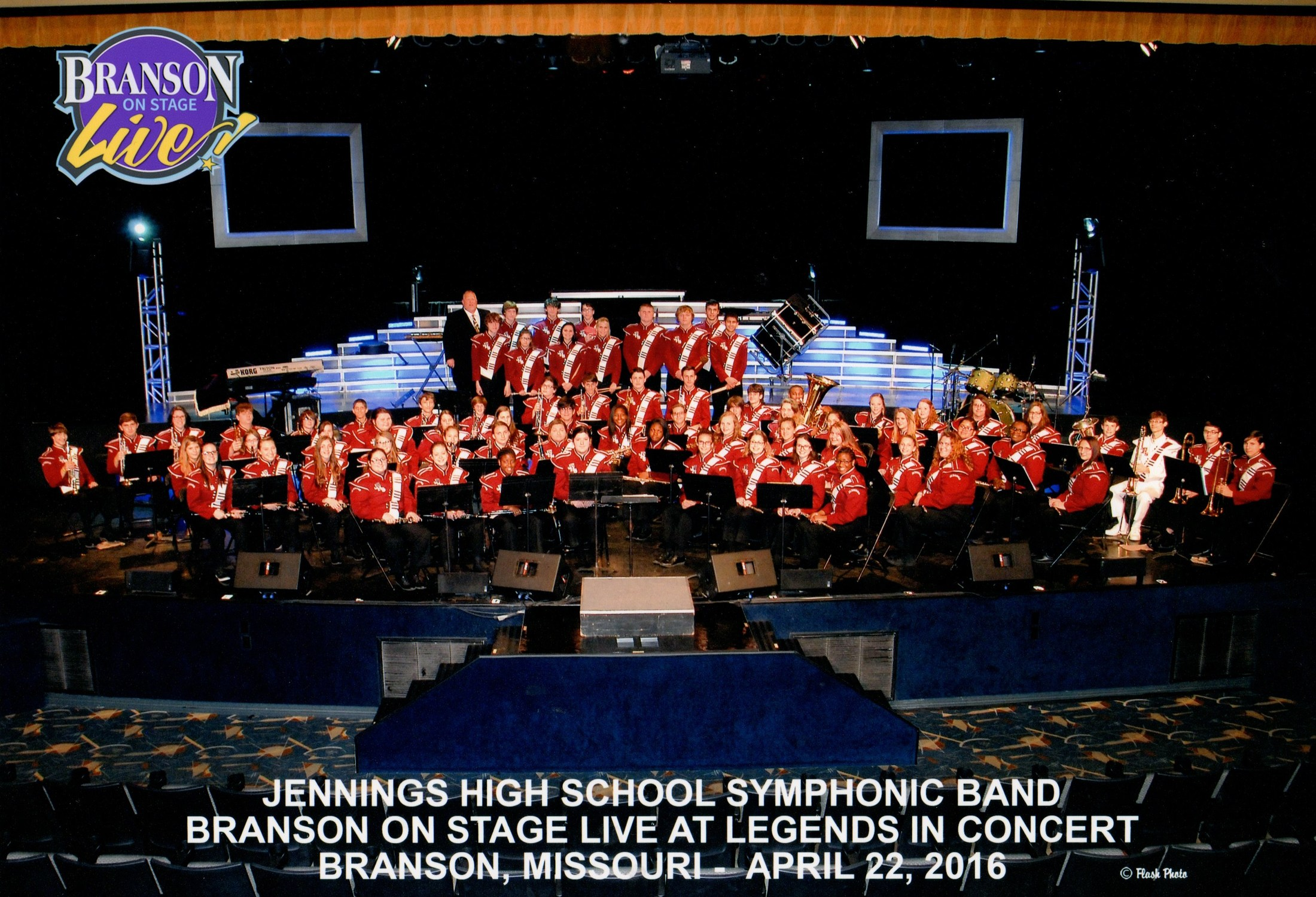 The Symphonic Band @ Branson On Stage Live, Dick Clark American Band Stand Theater