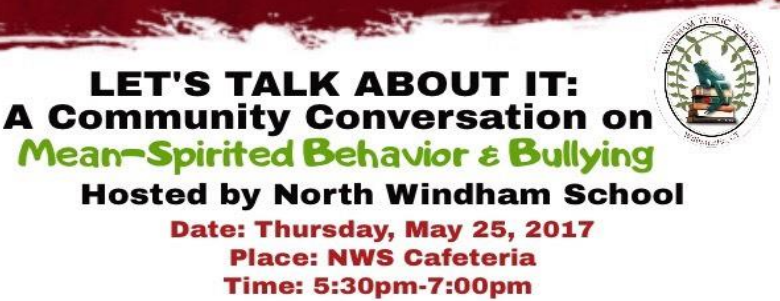 Let's Talk About It: A Community Conversation on Mean-Spirited Behavior & Bullying! Thumbnail Image