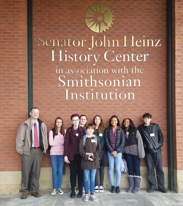 Cornell Students at Heinz History Center