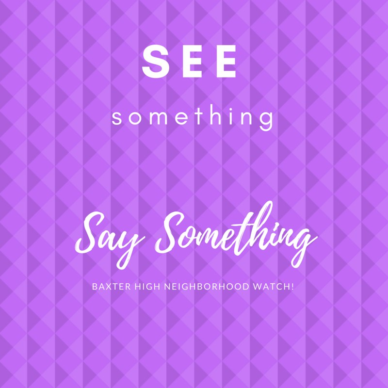 See Something, Say Something! Thumbnail Image