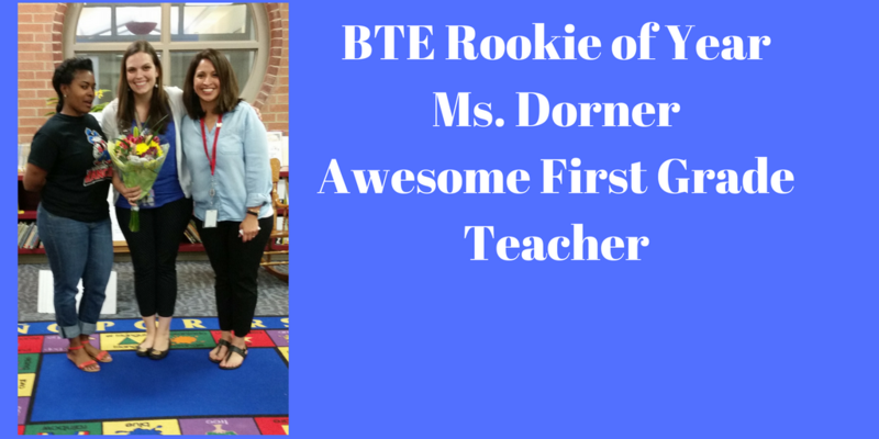BTE Rookie of the Year- Ms. Dorner Thumbnail Image